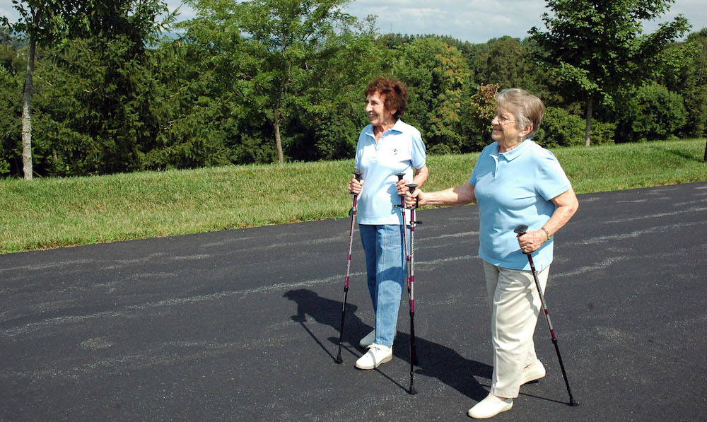 Senior Living Communities Encourage Retirees To Walk For