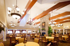 Allentown Retirement Community Dining Room