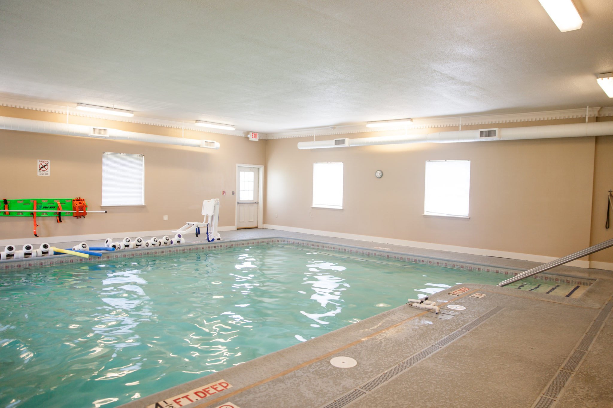 New Gym with Swimming Pool York