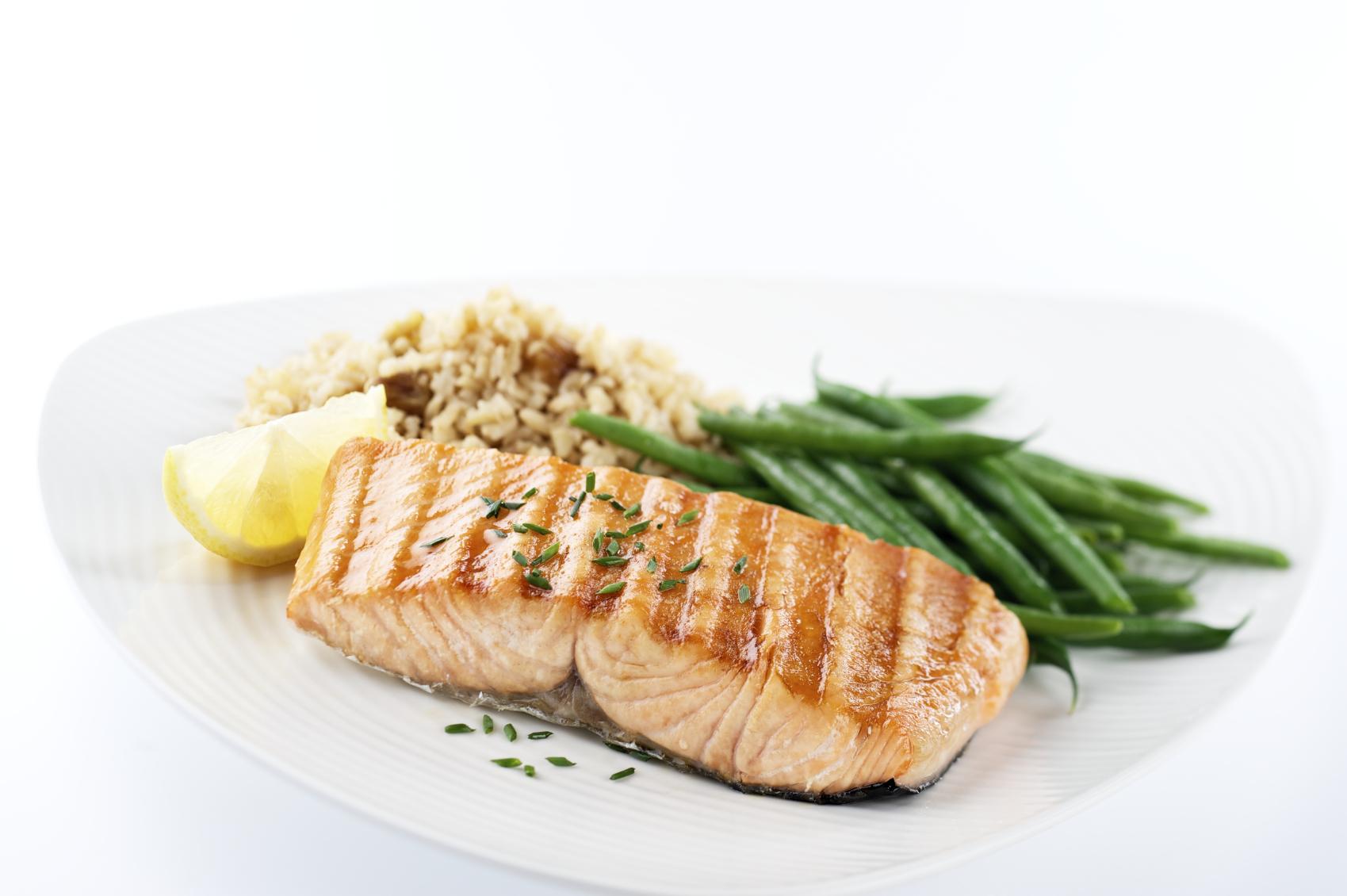 Senior Health Retirement Communities, Salmon Dinner