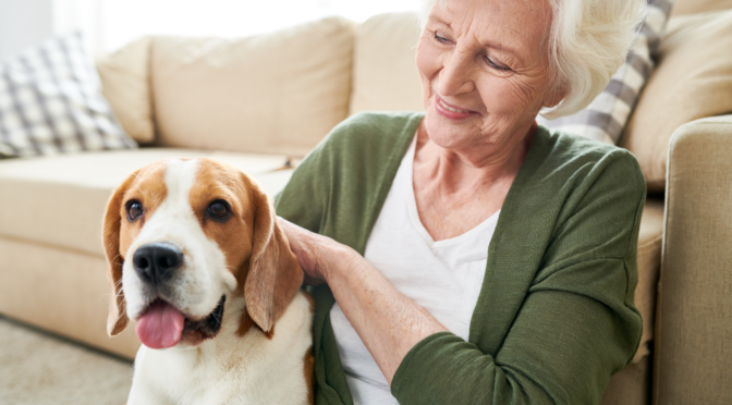 pet-friendly senior living communities